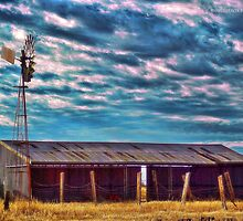 Southern Cross and Shearing Shed Revisited by Jennifer Craker