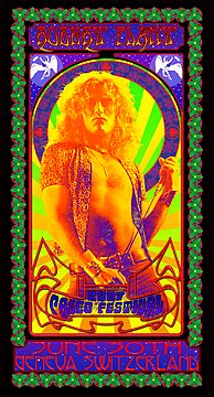 Robert Plant Paelo Fest Switzerland 2007 by superiorgraphix