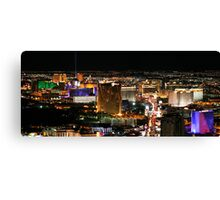 Las Vegas as seen from The Stratosphere Canvas Print