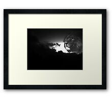Out of The Storm Framed Print