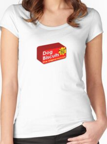 Dog biscuits Women's Fitted Scoop T-Shirt