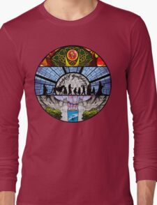 Lord of the Rings - Stained Glass Long Sleeve T-Shirt