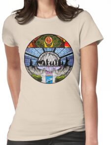 Lord of the Rings - Stained Glass Womens Fitted T-Shirt
