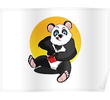 Sweet panda Poster
