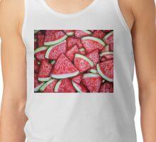 Ripe Juicy Watermelon Slices Tank Top