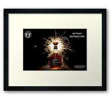Party Time with Jack Daniels  Framed Print