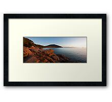 Tin Mine Cove Framed Print