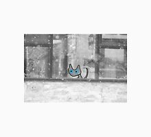 Cat Looking Out The Window In Winter Unisex T-Shirt
