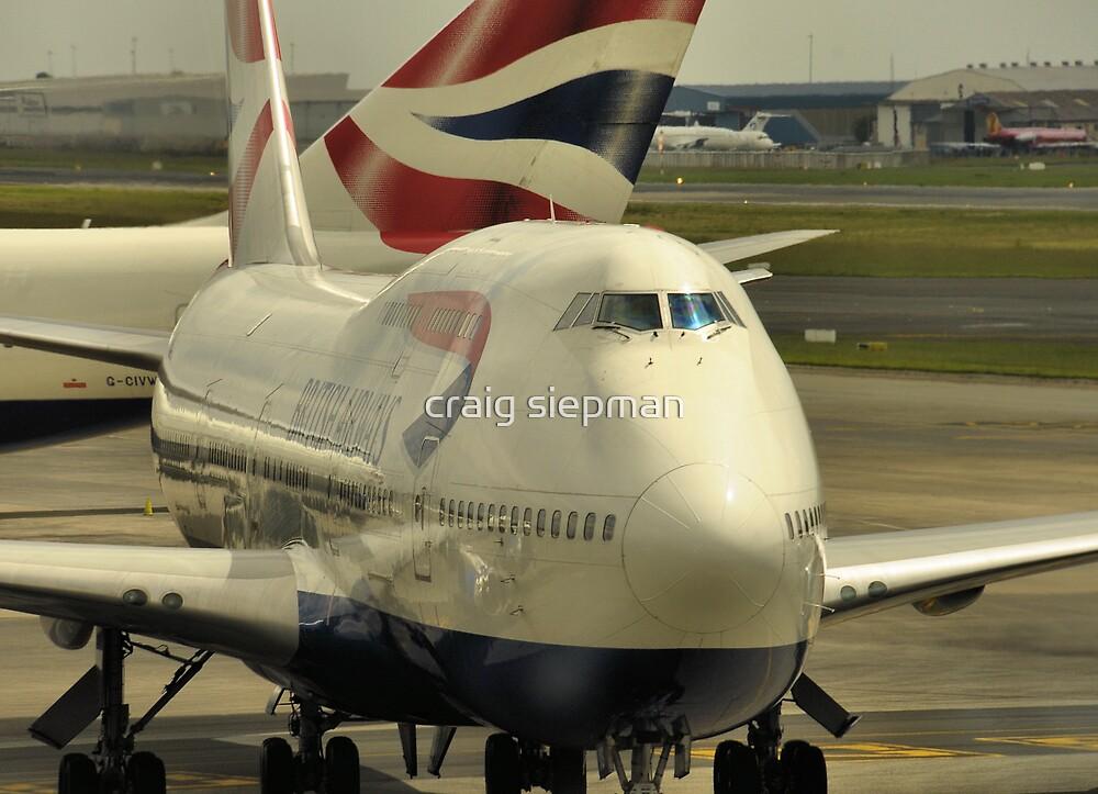 British Airways by craig siepman