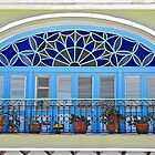 Balcony with Flowerpots  by Ethna Gillespie