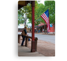 The Main Street of Tombstone Canvas Print