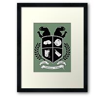 Ghostbusters Family Crest Framed Print