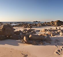 Windmills Beach Panorama 2 by Luke Martin