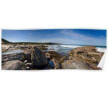 Wyliabrup Rocks Panorama Poster