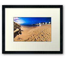 Cottesloe Beach @ Twilight Framed Print
