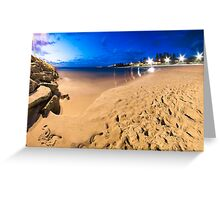 Cottesloe Beach @ Twilight Greeting Card