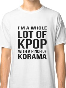 A LOT OF KPOP - WHITE Classic T-Shirt