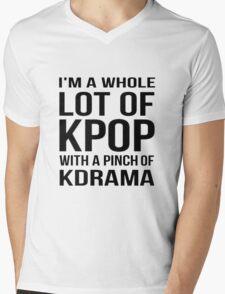 A LOT OF KPOP - WHITE Mens V-Neck T-Shirt