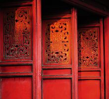 Red Doors by AnnieD