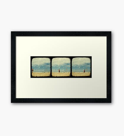 The Awkward Walk - TTV Framed Print