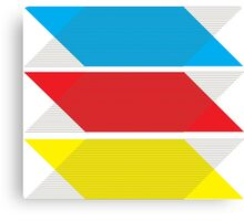Primary Colors gear Canvas Print