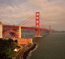 Golden Gate by Rikki Frederiksen
