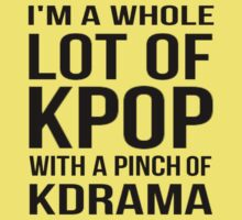 A LOT OF KPOP - RED One Piece - Short Sleeve