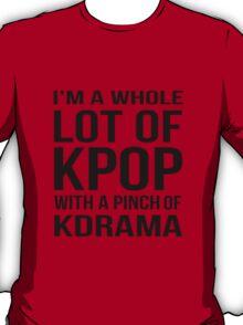 A LOT OF KPOP - RED T-Shirt