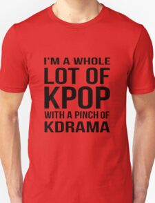 A LOT OF KPOP - RED Unisex T-Shirt