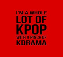 A LOT OF KPOP - RED by CynthiaAd