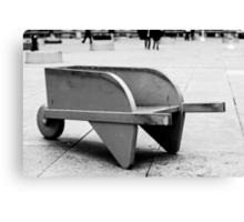 Monopoly Wheelbarrow Canvas Print