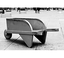 Monopoly Wheelbarrow Photographic Print