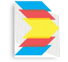 Primary Colors gear2 Canvas Print