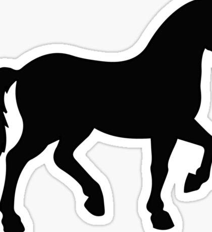 Horse Silhoutte Sticker