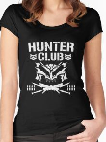 Hunter Club - Bullet Club X Monster Hunter Women's Fitted Scoop T-Shirt