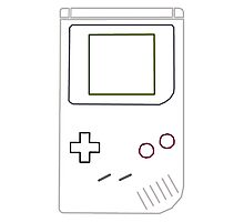 Gameboy Vector Photographic Print