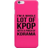 A LOT OF KPOP - PINK iPhone Case/Skin