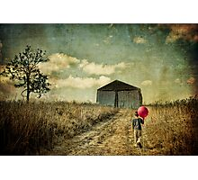 He Walks In The Dream Photographic Print