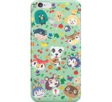 Animal Crossing New Leaf Town Folk iPhone Case/Skin