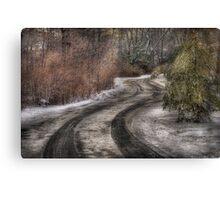 The hidden road Canvas Print