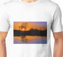 Flight of the wild geese Unisex T-Shirt
