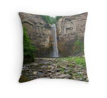 Taughannock Falls, Trumansburg, NY, USA Throw Pillow
