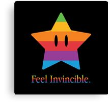 Feel Invincible Canvas Print