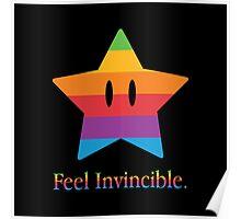 Feel Invincible Poster
