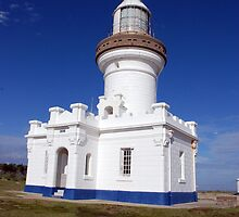 Point Perpendicular Lighthouse, Jervis Bay, NSW by Clare McClelland