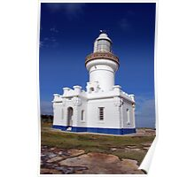 Point Perpendicular Lighthouse, Jervis Bay, NSW Poster
