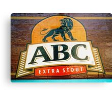 ABC Stout  Canvas Print