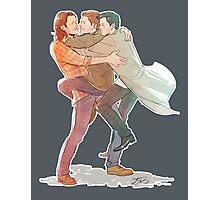 Team Free Will Hug Photographic Print