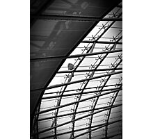 Man On The Roof Photographic Print