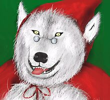 Red Wolf Riding Hood by Nornberg77